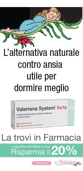 Valeriana system in farmacia